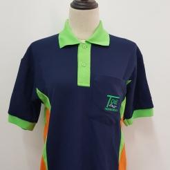 TDE Honeycomb cotton Polo T-shirt T-shirt printing Singapore Embroidery Singapore Custom made Polo T-shirt Singapore