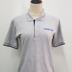 Hamilton Polo T-shirt Singapore T-shirt printing Singapore Embroidery Singapore Custom made Polo T-shirt Singapore