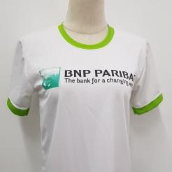 BNP Paribas Roundneck t-shirt T-shirt Printing Singapore