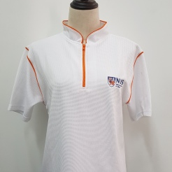 National University Singapore (NUS) Mand T-shirt printing Singapore Embroidery Singapore Custom made Polo T-shirt Singapore