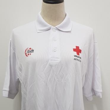 Red Cross Singpore NDP 2019 T-shirt Printing singapore
