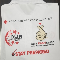 Singapore Red Cross Society National Day Parade NDP 2019 T-shirt