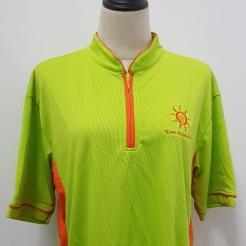 Sunlove Singapore Mandarin Collar T- Shirt Printing Singapore