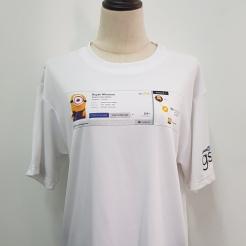 Linkedin Singapore T-shirt T-shirt printing Singapore Embroidery Singapore Custom made Polo T-shirt Singapore