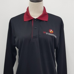 SK Pest Management Polo Long Sleeves T-shirt Printing Singapore