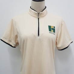 Heeton Mandarin collar t-shirt T-shirt Printing Singapore