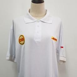 DHL Singapore Polo T-shirt T-shirt printing Singapore Embroidery Singapore Custom made Polo T-shirt Singapore